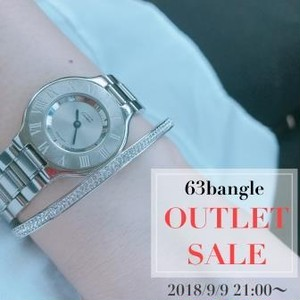 【OUTLET】63bangle 歪みあり