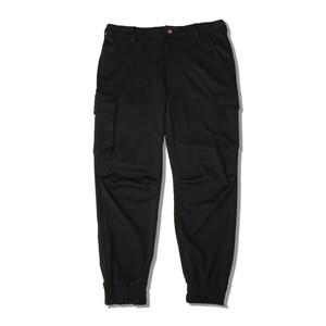 JERSEY CARGO PANTS / BLACK
