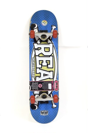 "7.3"" MINI REAL SKATEBOARD COMPLETE DELUXE"