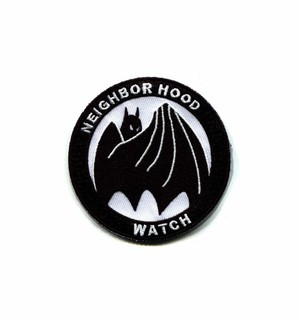 "OTHER WORLD""Neighborhood Watch patch"""