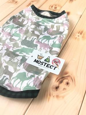 ◆◆防蚊加工◆◆動物迷彩柄タンク FBSサイズ