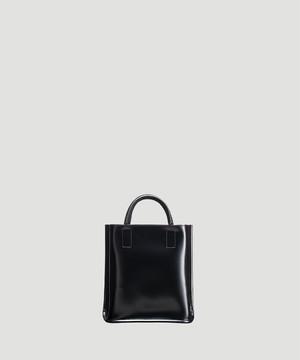 PIENI Tote Bag S Black×Black SZB-31-5018