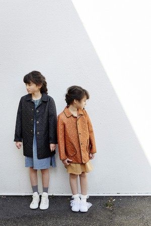 Kid's Barquilt Coat〈サイズ100、120〉 / Eatable Home