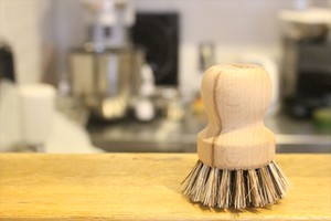 レデッカー(REDECKER) 木のキッチンブラシ 7.5cm(植物繊維)
