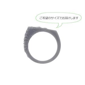 UV硬化樹脂 / 3Dモデル (リング) / Like me♪ エレガントフラワー