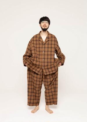 "NOWHAW / ""jambo"" pajama #camel check"
