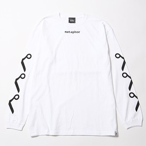 【SILLENT FROM ME】METAPHOR -Long Sleeve- WHITE