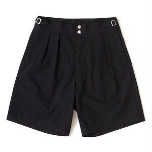 【FILL THE BILL】《MENS》WIDE GURKHA SHORTS - NAVY