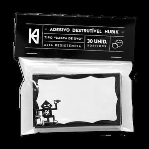 HUBIK® Destructible Adhesive Pack (ステッカー)