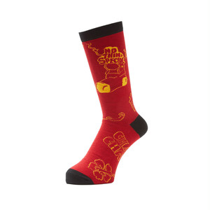 NOTHIN'SPECIAL x WHIMSY / WEST SIDE STORY SOCKS (Red)