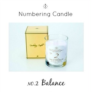 Numbering Candle NO.2