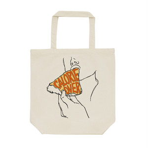 [トートバッグ] Calorie over / pizza