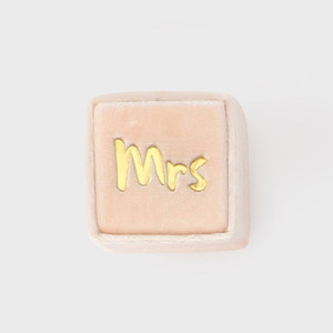 THE MRS.BOX(ザ・ミセスボックス)クラシックサイズ「mrs」HEAVENHEART(ピーチ)