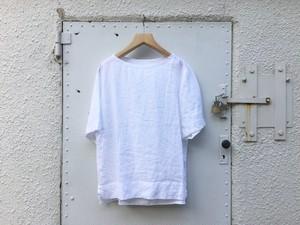"Womens AUGUSTE-PRESENTATION Pajama look "" 半袖プルオーバー "" WHITE"