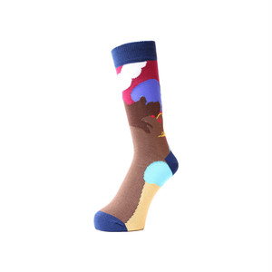 WHIMSY - AFTERNOON DELIGHT SOCKS (Navy)