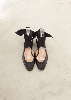Leather w/strap flat