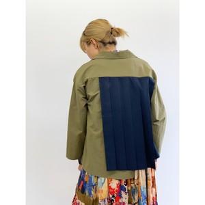 BAD・バックプリーツ変形ジャケット(1W16013H)