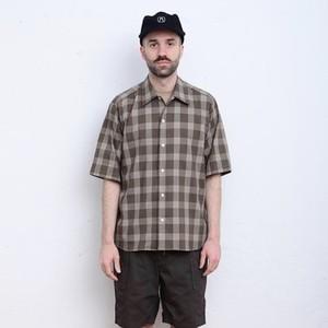 【MANUAL ALPHABET】 CLASSIC CHECK S/S SHIRT マニュアルアルファベット クラシック チェックシャツ 半袖シャツ