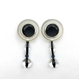 Button Earring D