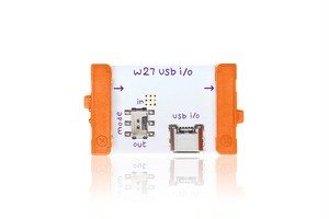 littleBits W27 USB I/O リトルビッツ ユーエスビーアイオー【国内正規品】