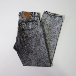 """1990s LEVI'S 501 """"chemical"""" JEANS"""
