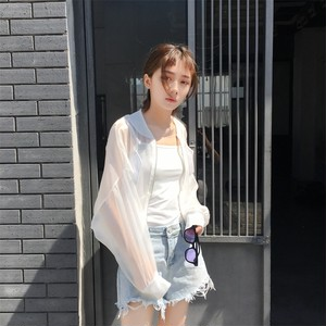 ♡see through baseball jkt 2406