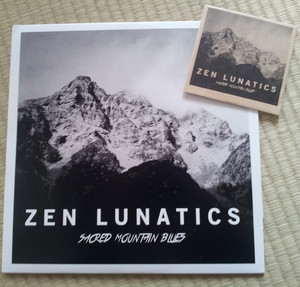 "Zen Lunatics ""Sacred Mountain Blues"" 片面LP"