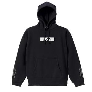 ロゴデザイン フーディー / ブラック