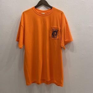 CASPER ポケット Tシャツ セーフティーオレンジ