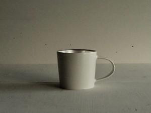 銀彩マグカップ 1型 白