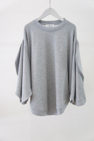 MICKEY SHILOUETTE CREW SWEAT -GRAY- / MAISON CIRCLE by ANREALAGE