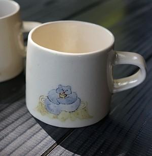 よしのちはる くまのマグカップ