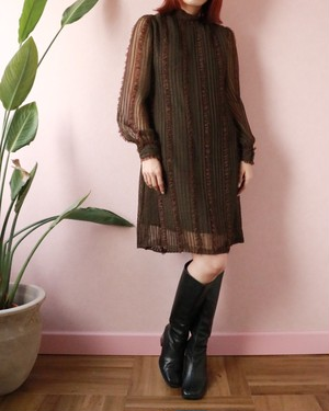 60's Saks Fifth Avenue laced dress