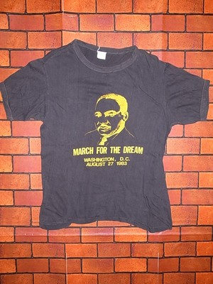 Martin Luther King, Jr 80'S T-SHIRTS
