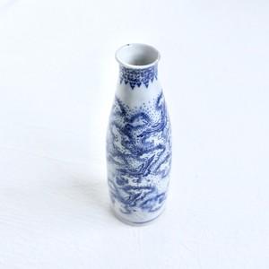 【KR061】 印判 徳利 大正 / Sake Bottole / Taisho Era