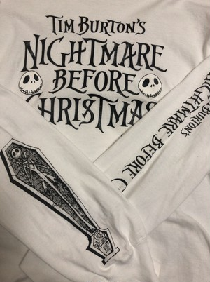 2000's NIGHTMARE BEFORE CHRISTMAS L/S T's