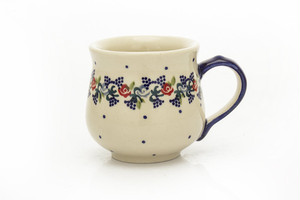 マグカップ220ml[白地にお花/P301]