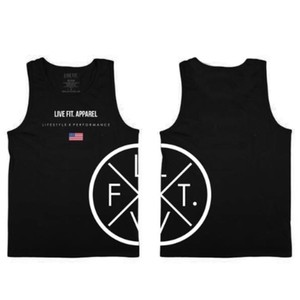 LIVE FIT Prestige Tank/Black