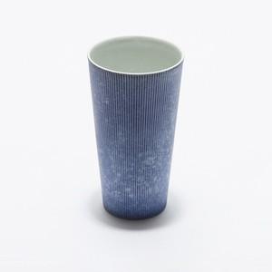 有田焼 李荘窯 コスモスブラスト ビアカップ(BEER&CRAFT期間限定)