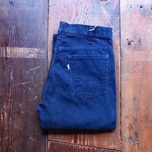 1970s Levi's 646 - 1517 Corduroy Pants Navy / リーバイス コーデュロイ パンツ ベルボトム