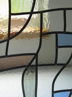 ステンドグラスパネル014 海辺
