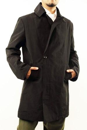 GodeM cotton nylon asymmetry trench coat コットンナイロンアシンメトリートレンチコート