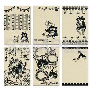 しょこねこポストカードシリーズ 6種セット shokoneko set