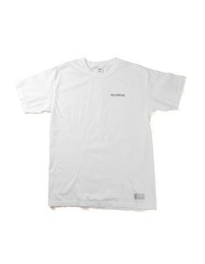 Shaded LOGO Garment Dye Tee / WHITE