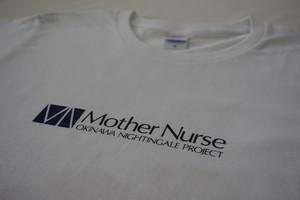 Mother NurseロゴTシャツ Type-A ホワイト