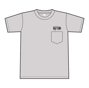 """H十S'' Pocket Tee(Gray)"