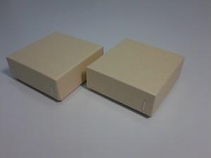 チップボール紙 ギフト箱(クラフトベージュ)6個入