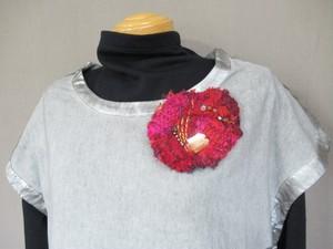 手織りブローチ12