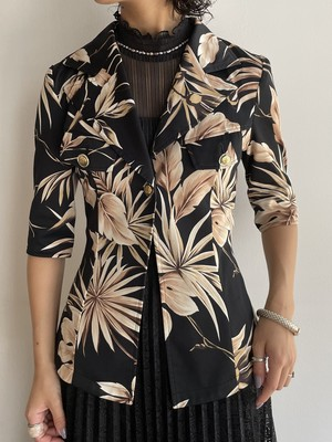 (TOYO) design single s/s jacket