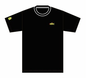 deli fu cious Tシャツ BLACK X YELLOW